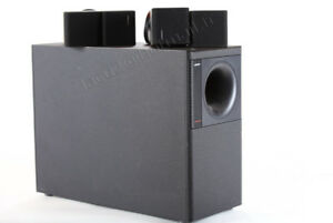Speaker Bose Hi-Fi NAD Cambridge et Arcam