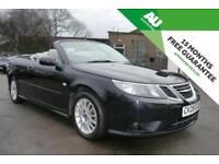 2009 Saab 9-3 1.8t Linear SE CONVERTIBLE in Black
