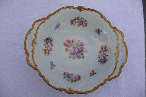 Antique Reichenbach Porcelain Bowl, German Democractic Republic