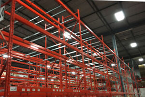 Short and long term pallet and skid storage