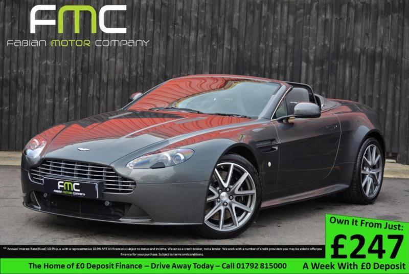 Aston Martin Vantage S V Roadster Full AM History Year AM - Aston martin warranty