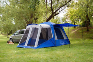 Napier Outdoors SUV Tent -Like New Used only 4 times