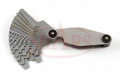 Screw Pitch Gage Acme29 Degree Angle 1n-12n 16 Blades