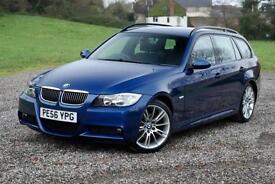 BMW 3 SERIES 325I M SPORT TOURING - ESTATE, BLUE, MANUAL, PETROL, 65,880 MILES