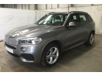2016 GREY BMW X5 3.0 XDRIVE30D M SPORT 7 SEAT DIESEL 4X4 CAR FINANCE FR £129 PW
