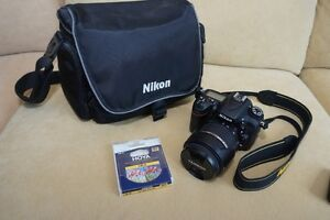 Nikon D7100 with lens and accessories