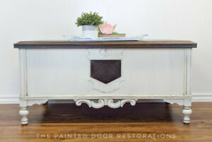 Cedar Lined Chest/Coffee Table/Bench