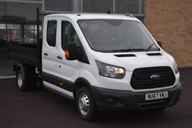Ford Transit 2.0 TDCi (130PS) EU6) Double Cab Tipper