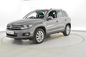 2014 VOLKSWAGEN TIGUAN 2.0 TDi BlueMotion Tech Match 4MOTION 5dr Auto