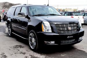 2013 Cadillac Escalade ESV PLATINUM AWD MAGS TOIT NAVI TV/DVD