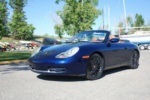Beautiful 2001 Porsche 911 Carrera Cabriolet
