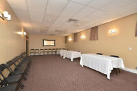 CONFERENCE ROOM & BANQUET SPACE NOW AVAILABLE IN ALLISTON!!