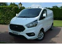 Ford Transit Custom 2.0 300 EcoBlue Limited L1 H1 EU6 5dr Panel Van Diesel Manua