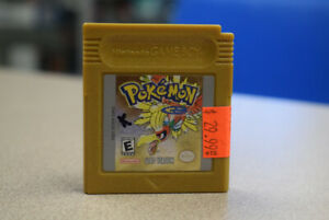Pokemon Gold Version For Nintendo GameBoy (#2858)