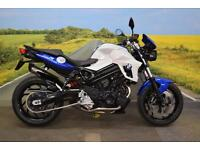 BMW F800R **ABS, Tank Pad, Heated Grips, Braided Hoses**