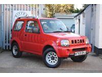 Suzuki Jimny 1.3 JLX AUTO (red) 2000