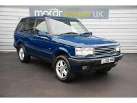 2002 Land Rover Range Rover 4.6 Vogue Auto full history stunning original exa...