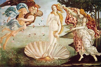 "Sandro Botticelli art poster 24x36"" The Birth of Venus"