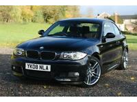BMW 1 SERIES 123D M SPORT, COUPE, MANUAL, DIESEL, 2008,