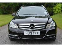 Mercedes-Benz C200 2.1CDI 2013 CDI Executive SE ESTATE BLACK LEATHER