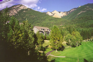 SPRING BREAK- mountain view condo on Radium Golf Course