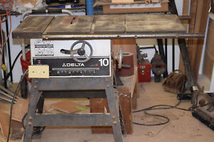 Delta Cast Iron Table Saw