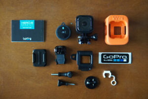 GoPro HERO 4 Session Waterproof Action Camera w/Accessories