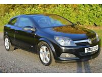 Vauxhall Astra 1.4i 16v Sport Hatch 2006 SXi 3DR BLACK 17 ALLOYS RADIO CD AC