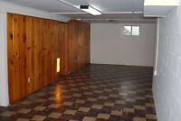 ** Commercial Basement to Lease or Sublease **