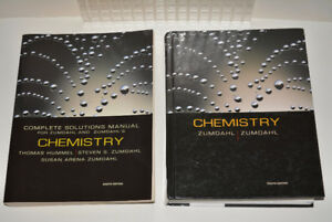 2 Chemistry 8th Zumdahl SOLUTIONS MANUAL CHEMISTRY 8E AP Books*