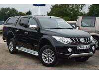 2018 Mitsubishi L200 DI-D 4WD WARRIOR DCB Auto Pick Up Diesel Automatic