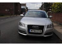Audi A3 TDI 2012 plate bargain for cheap only £5,400 px welcome (start-stop auto engine) blue motion