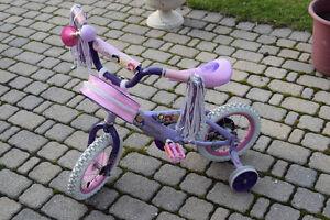 Kids Princess Training Bike