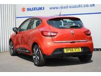 2016 Renault Clio 1.5 dCi Dynamique S Nav (s/s) 5dr Diesel red Manual