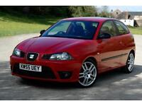 SEAT IBIZA 1.8T CUPRA 20V, Red, Manual, Petrol, 2006, RARE MODEL