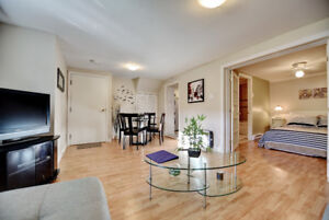 Nice 3 1/2 furnished apartment at Pierrefonds home