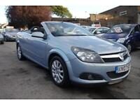 2007 VAUXHALL ASTRA 1.8 TWIN TOP SPORT CONVERTIBLE FULL SERVICE HISTORY