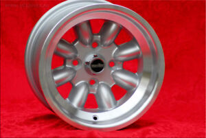 4 pcs 8x13 Alfa Romeo wheels GTAm project Minilite