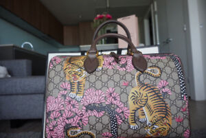 Limited Edition Gucci Bengal Tiger Boston Bag