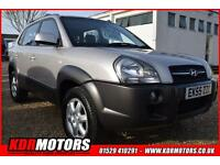 2005 Hyundai Tucson Cdx 2.0 Crtd 4wd 52K F/S/H LEATHER WAS £3495 NOW £3395