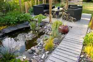 Custom landscaping and garden builds. Shawn's Call contracting London Ontario image 3