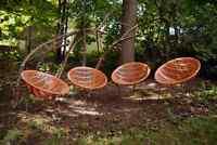 4 chaises Solair originales par IPL Canada