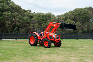 Kioti RX7320 Power Shuttle Tractor with Free Front End Loader