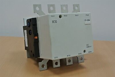 AC 4 Pole contactor 230 Volt Coil MOTOR 3 Phase Inverter Converter...