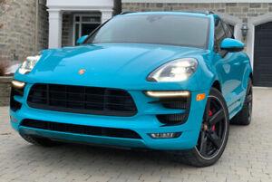 Porsche Macan GTS Bleu Miami