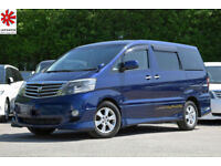 2007 (56) TOYOTA ALPHARD MS 4x4 AWD 3.0 V6 Automatic Captain Seats Elgrand E51