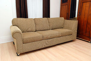 Classic Comfy Sofa in Excellent Condition.   Very high quality w