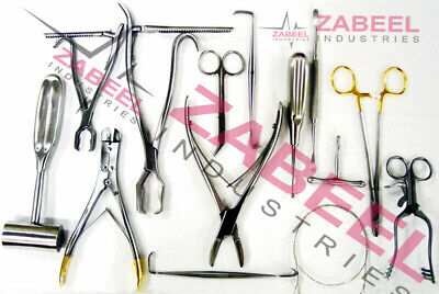 20 Pcs Set Veterinary Orthopedic Veterinary Surgical Instruments Premium Kit