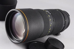 Awesome Tokina 80-200 mm F 2.8 telephoto lens in as new codition