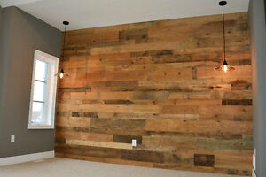 Barn Board Accent Walls - Reclaimed Accent Walls Kitchener / Waterloo Kitchener Area image 7